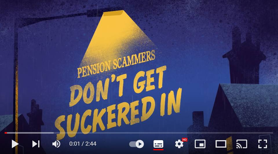 'Don't get suckered in': Scams warning animation launches