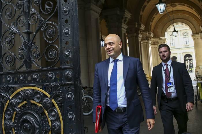 Ex-chancellor Sajid Javid returns to JP Morgan