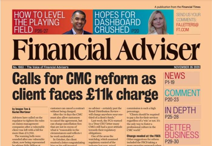 Read it now: £11k fee reignites call for CMC cap & more support for households