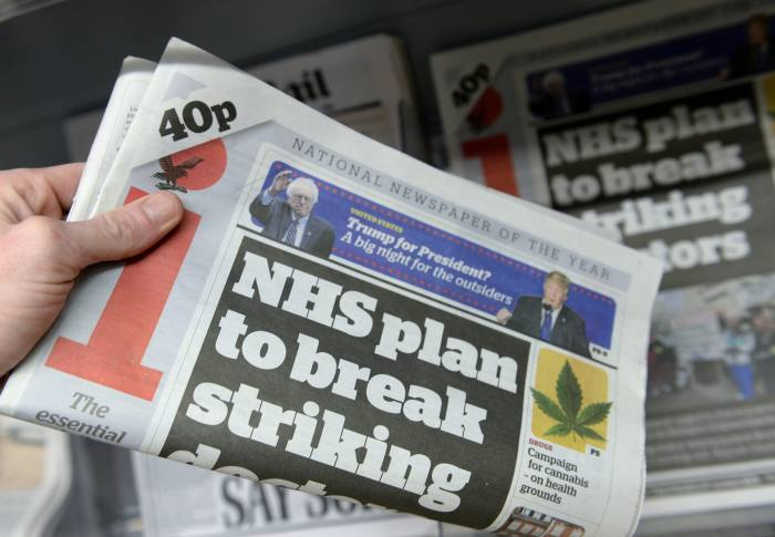Johnston Press in talks to offload pension