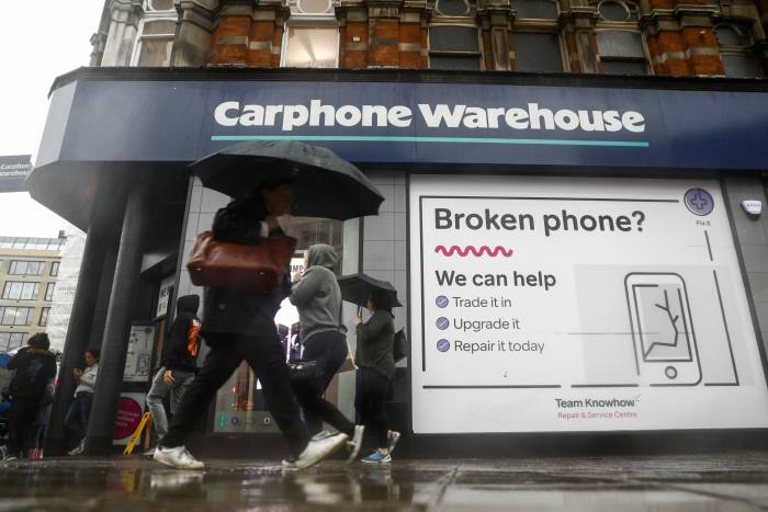 MPs question Dixons Carphone over pension fund