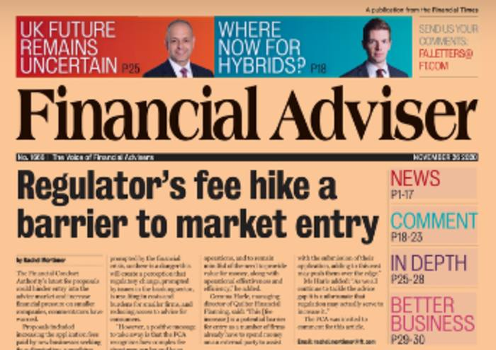 Read it now: FCA fee hike imposes barrier & need to stop scams