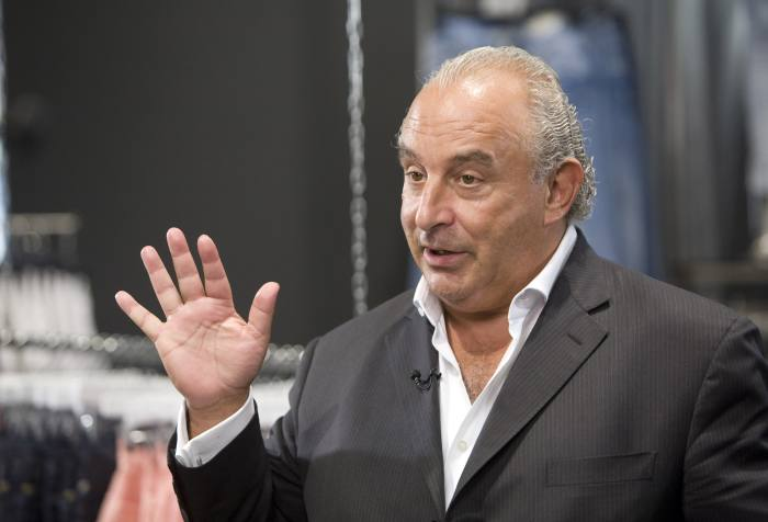 Philip Green offers £185m guarantee for Arcadia pensions