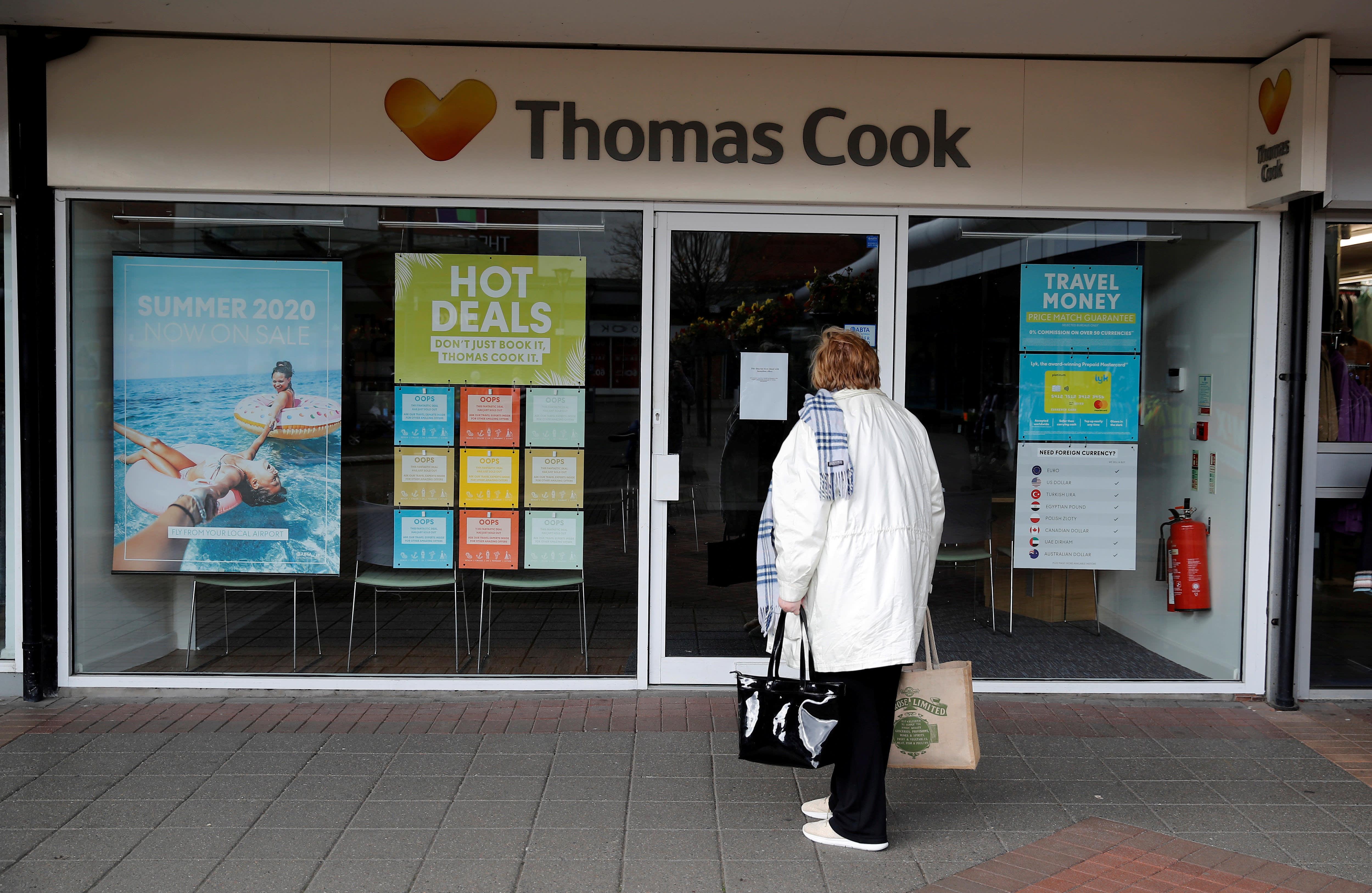 Thomas Cook pension members won't see full benefits