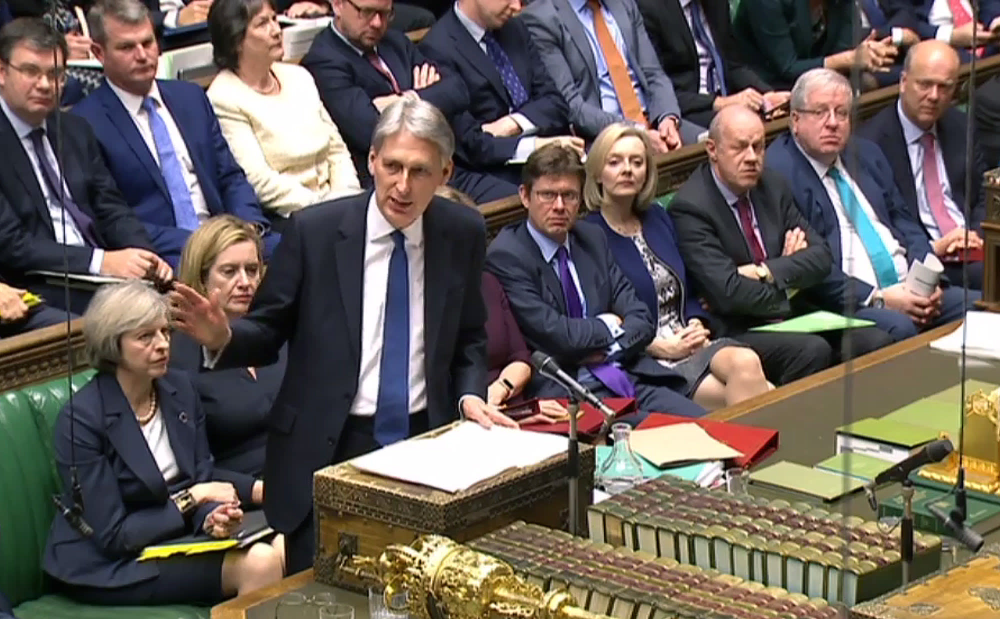 Hammond promises no tax changes in Spring Statement