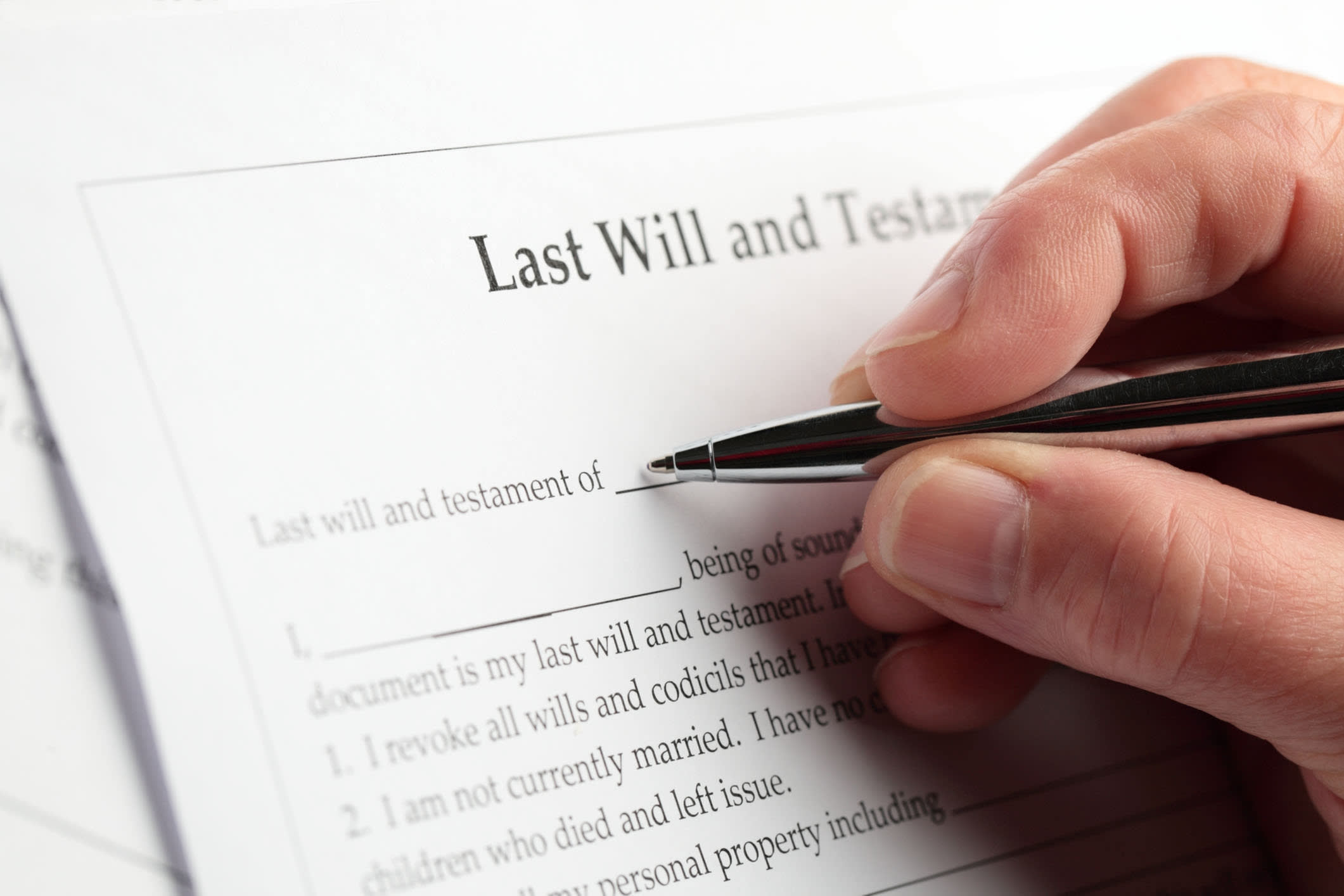 Signing a will during the pandemic