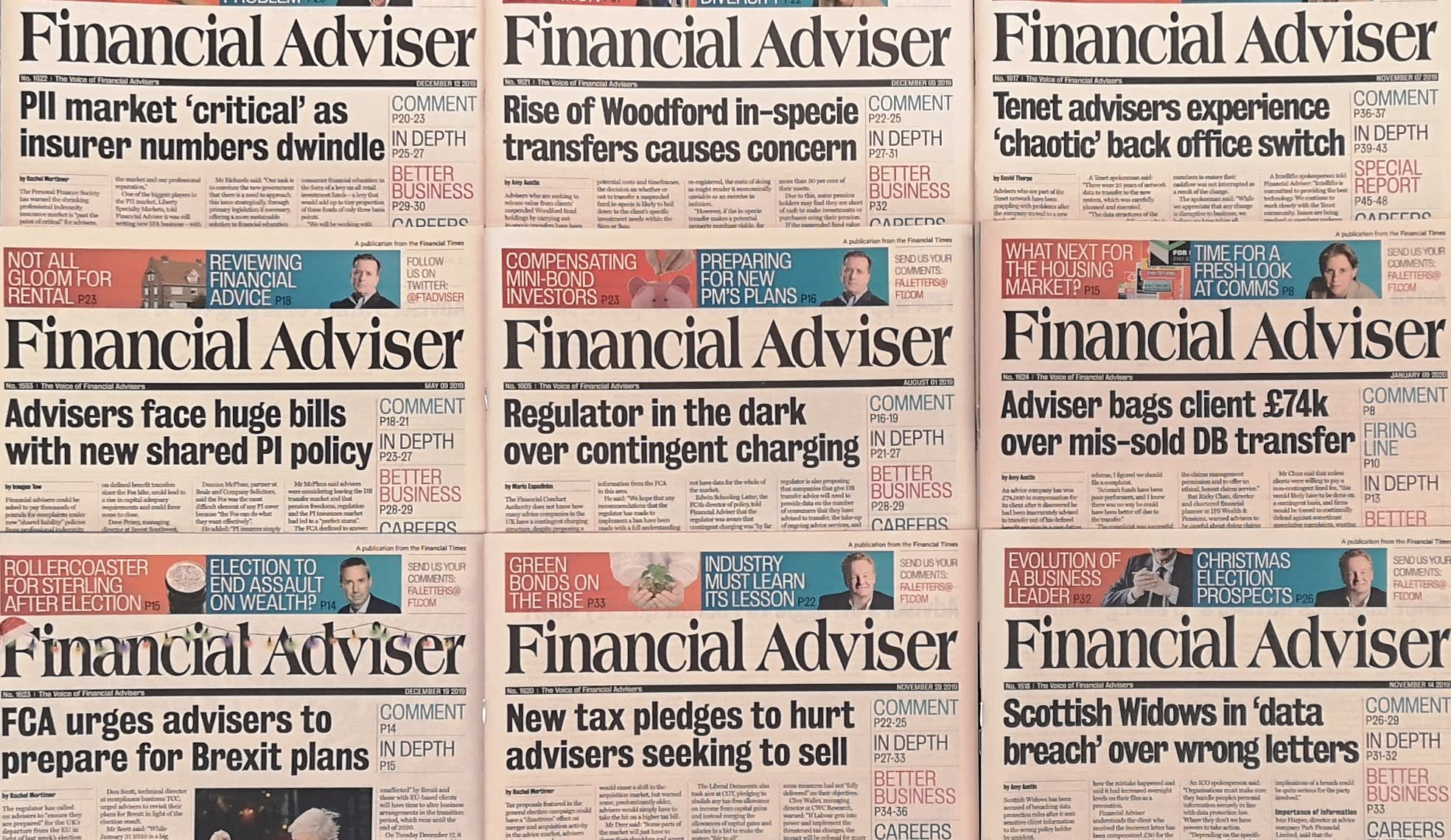 Robo-adviser closes and adviser fees challenged: the week in news