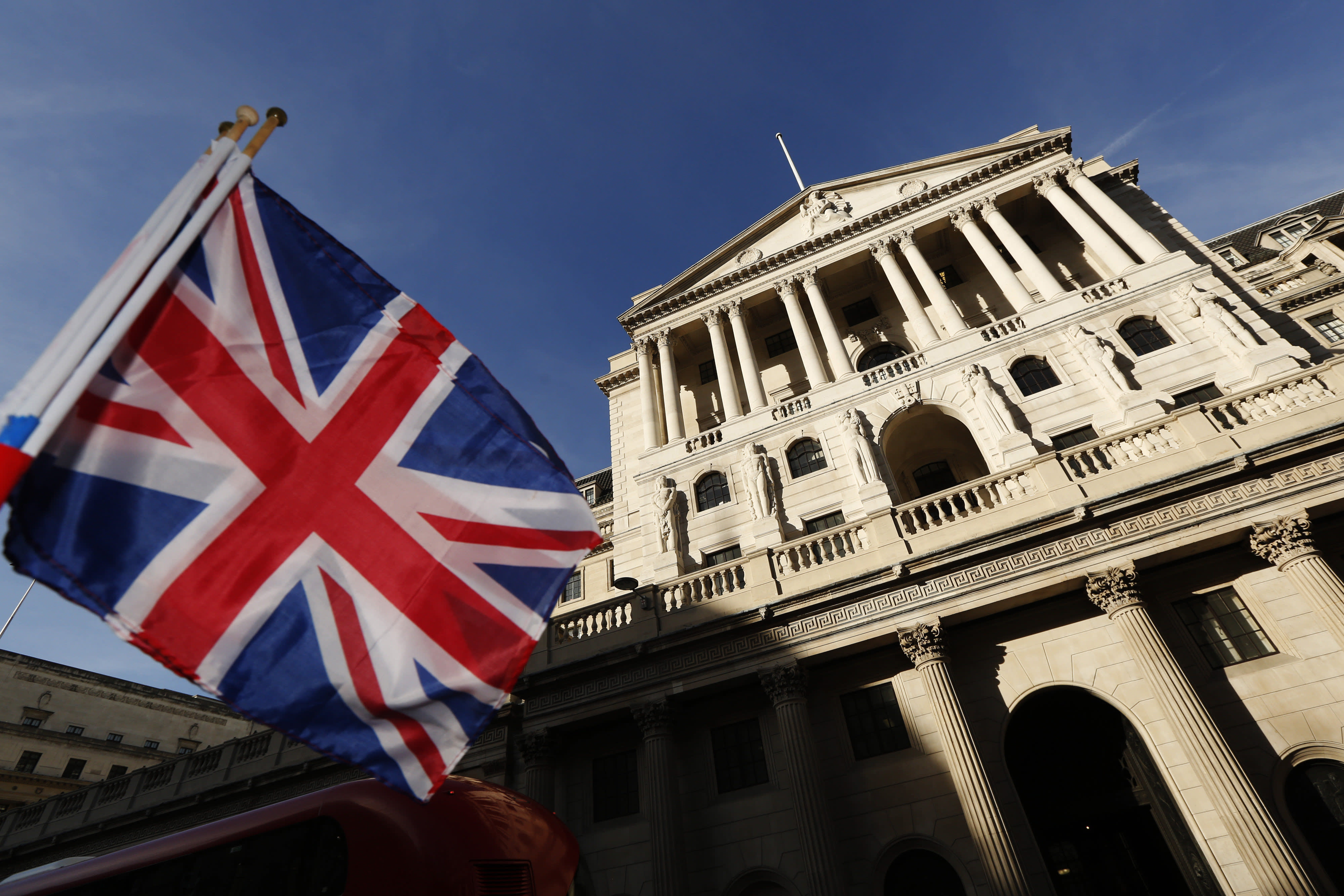 BoE holds rates steady but upgrades growth forecast