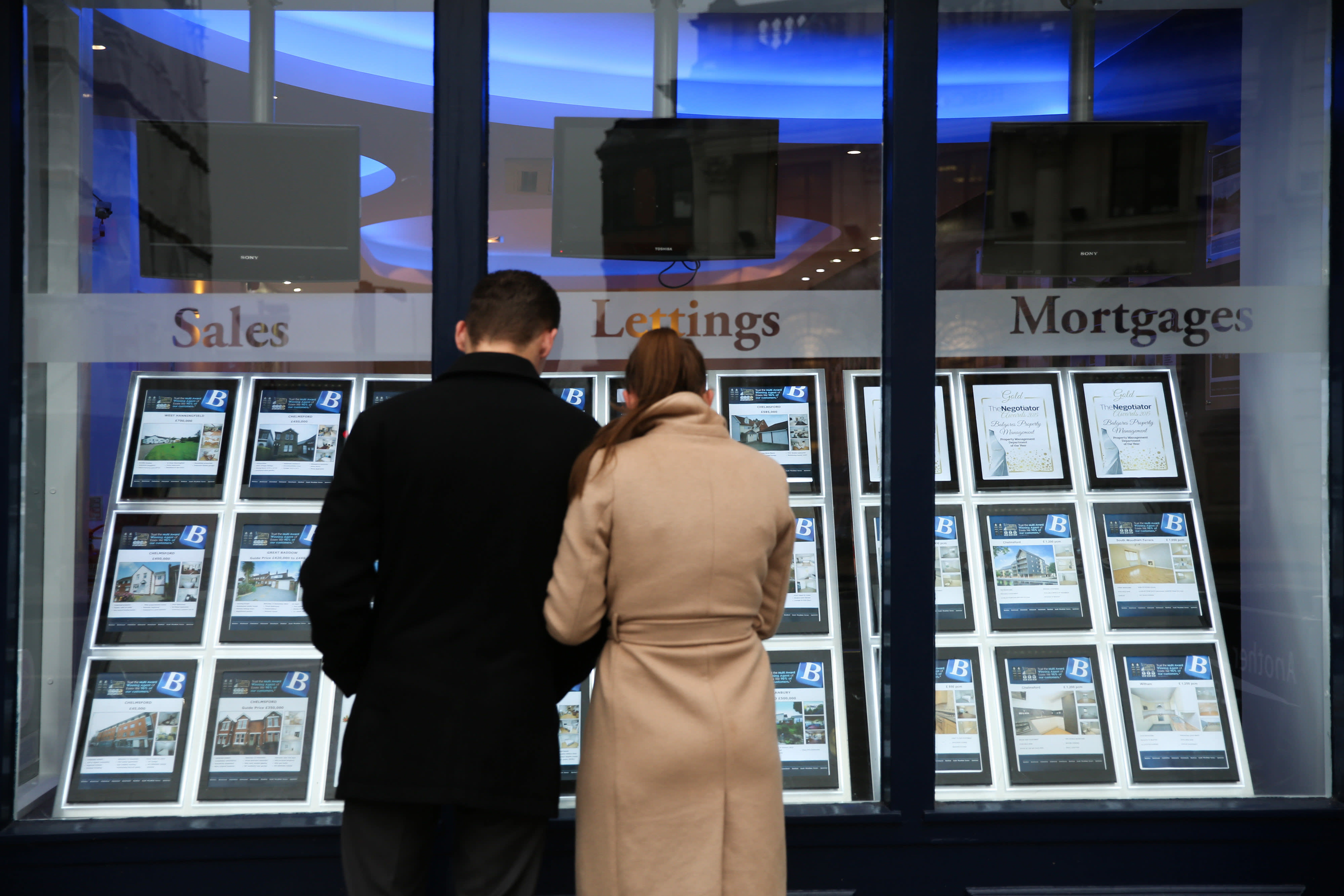 House prices fall across half of London