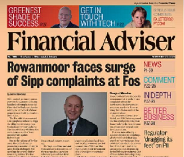 Read it Now: Rowanmoor faces complaint surge & FCA 'dragging' heels on PII