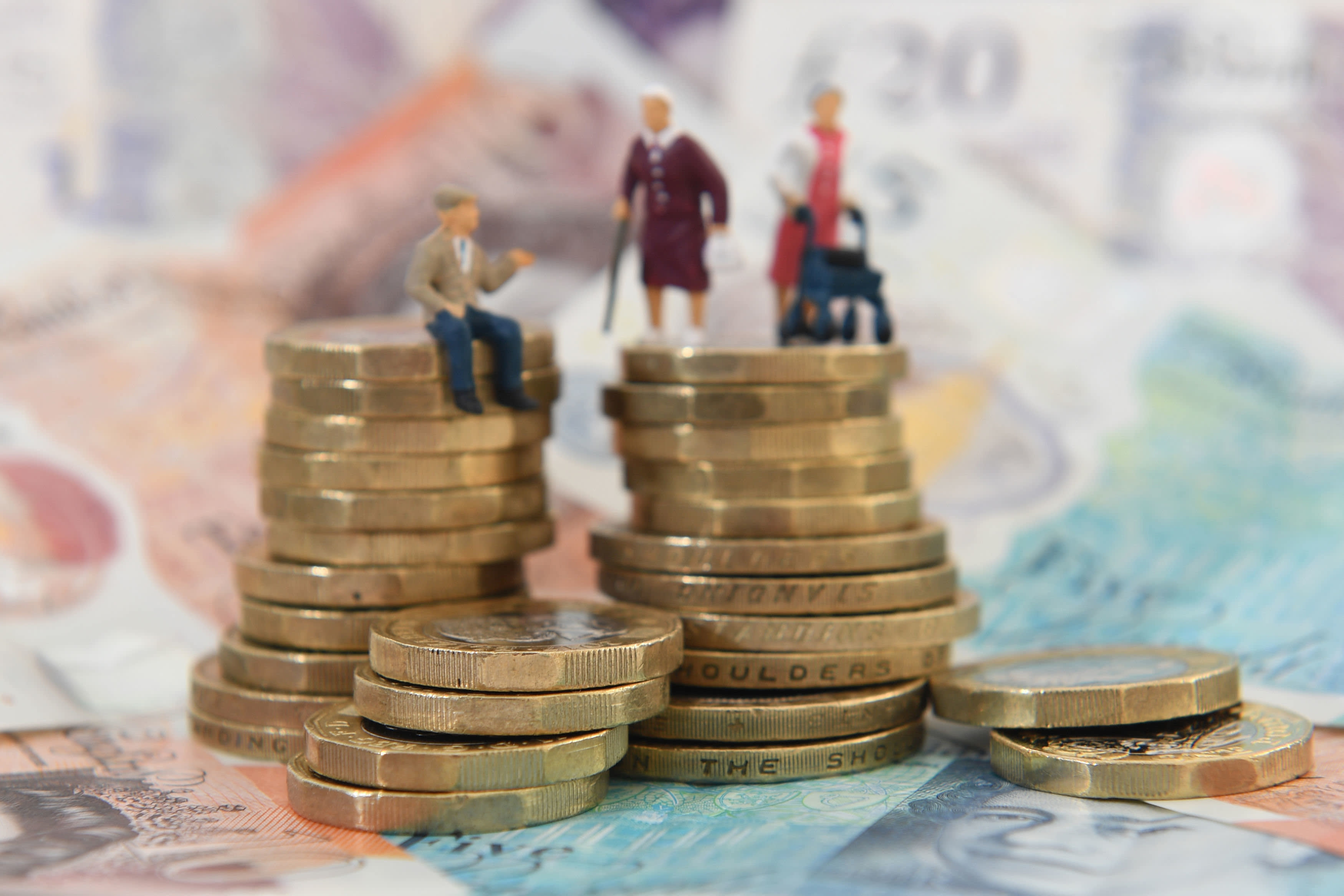 Record number of savers dip into their pensions