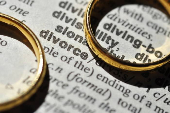 How to split the pension on divorce