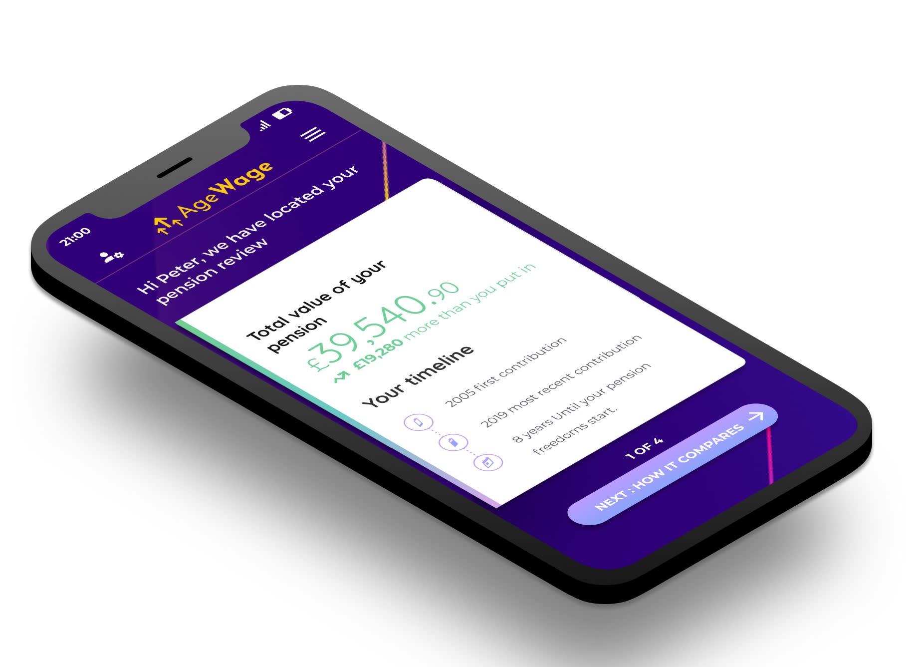New pension comparison app set to launch
