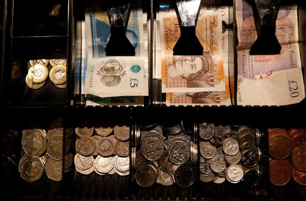 Sterling sees post-election gains wiped out