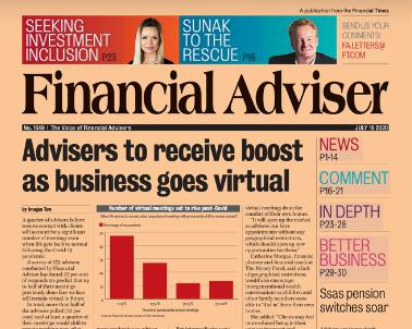Read it now: Business boost for advisers & Ssas switches soar
