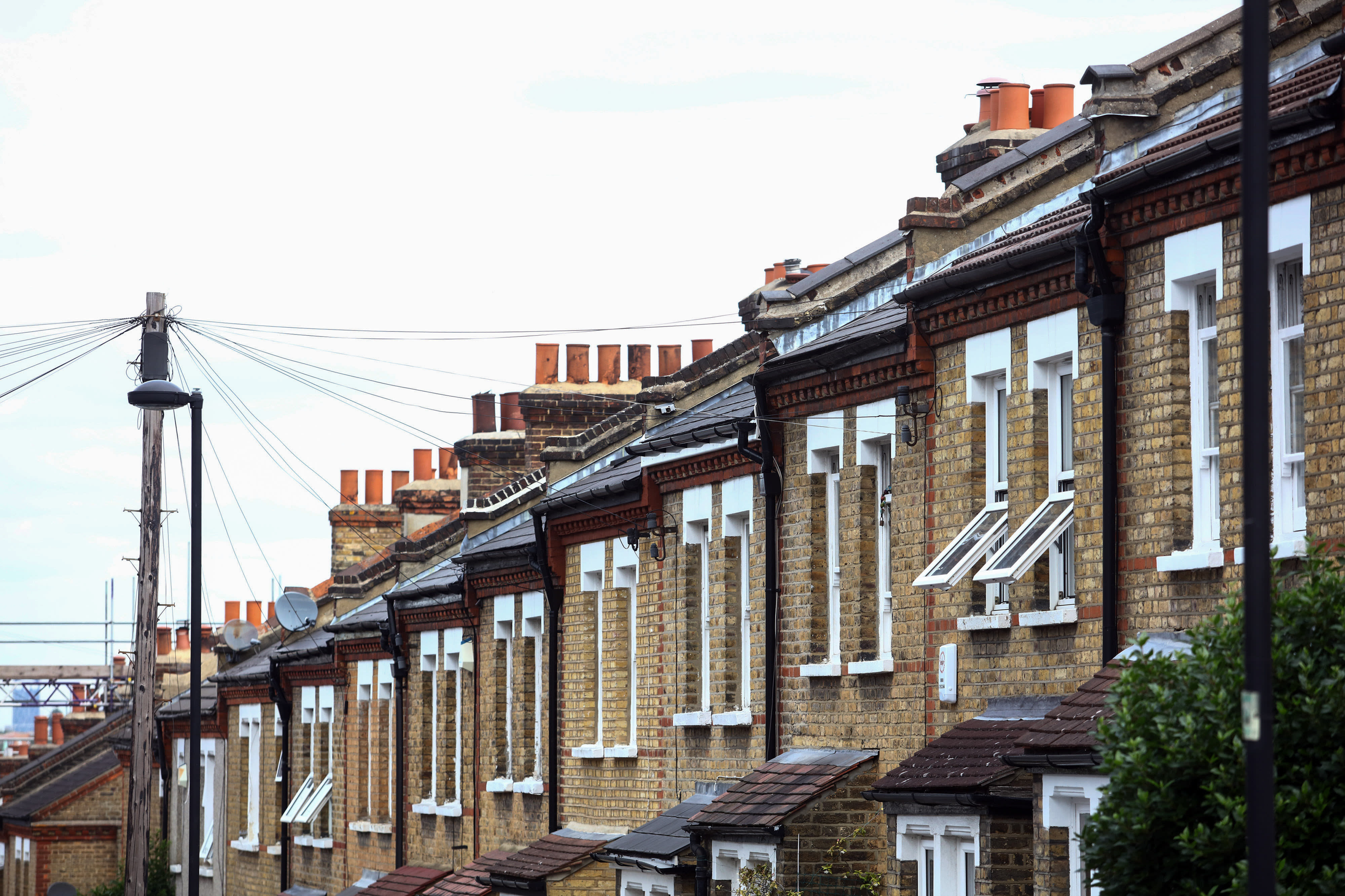 UK house price growth drops to five-year low