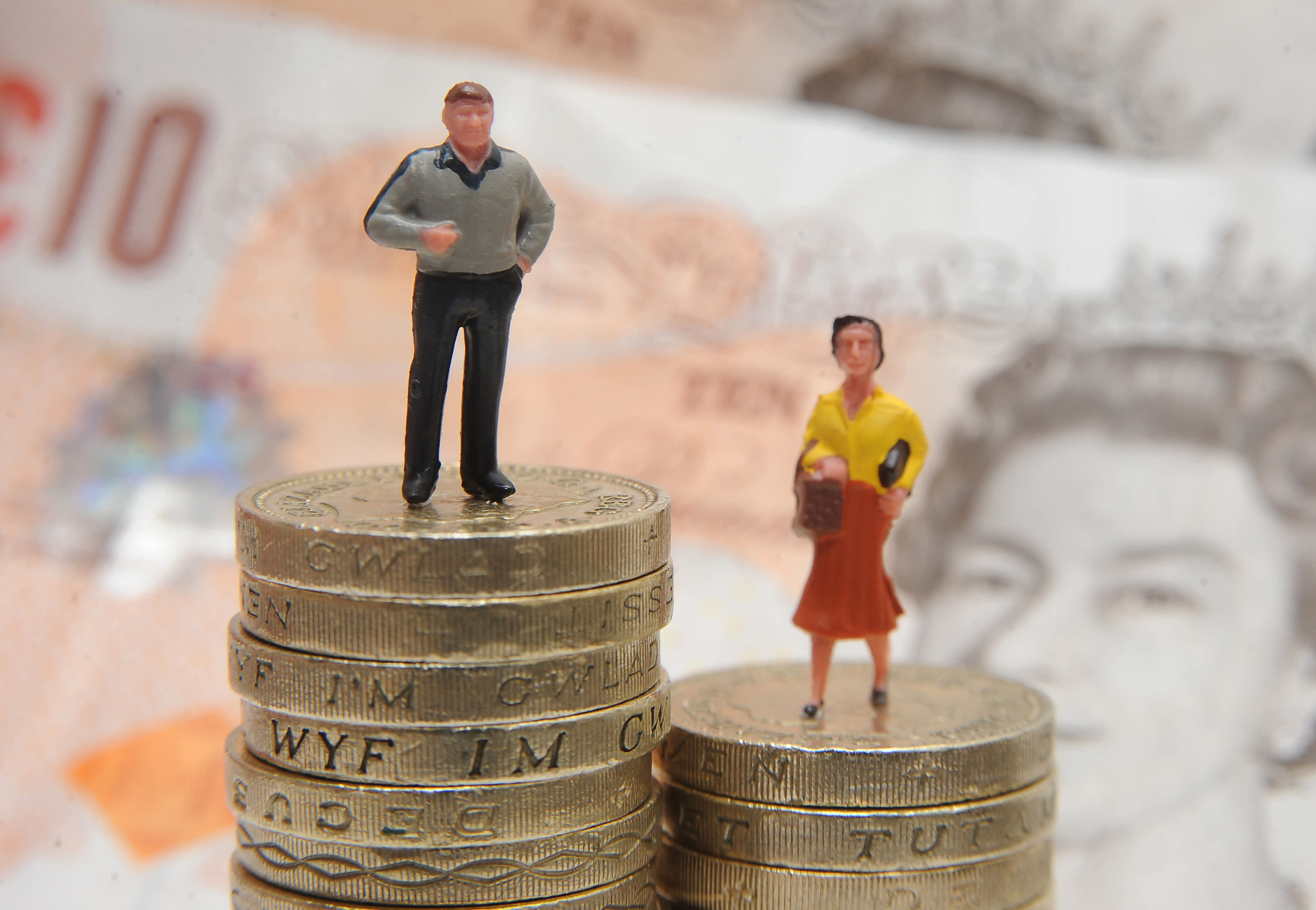 Women have £7k less in their pension than men