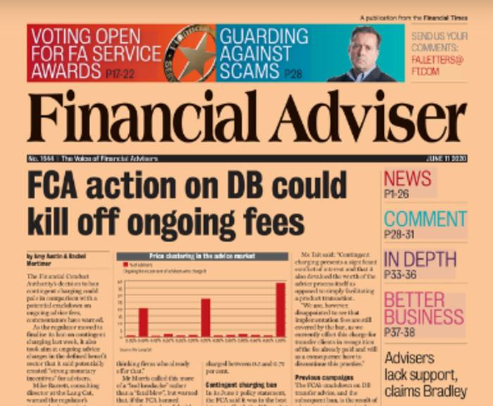 Read it now: The death of ongoing fees & more IFA support needed