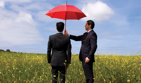 How can life insurance help with protecting an inheritance?