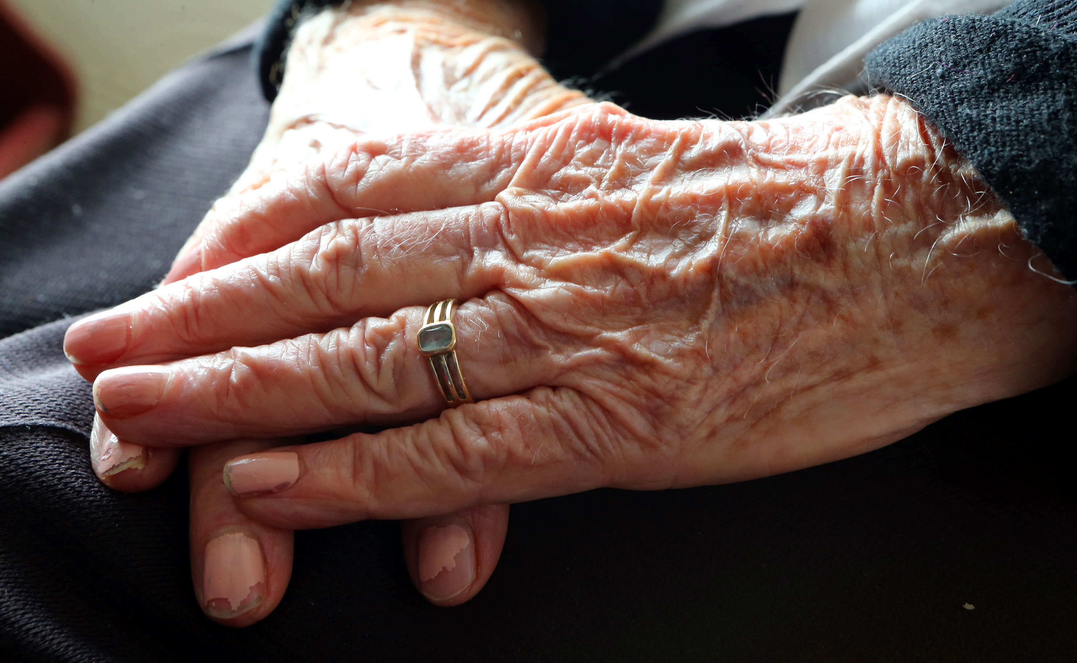 Proportion of state pensioners falling