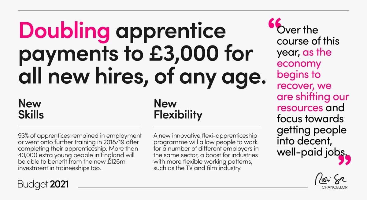 Budget 2021: Boost for apprenticeships 'will help IFA sector'