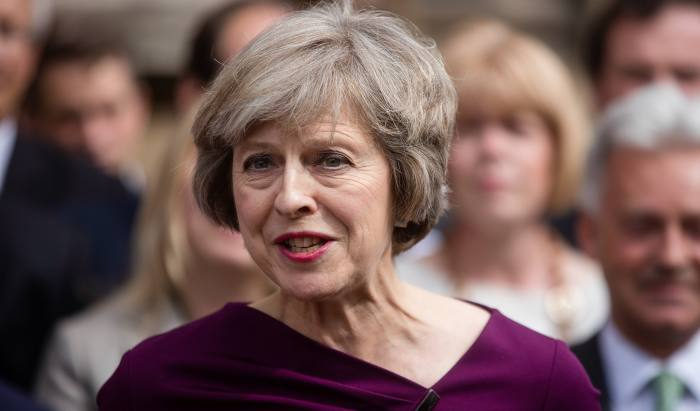May calls snap general election on 8 June