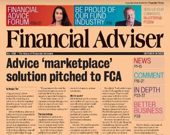 Read it now: New proposal to FCA & paraplanner demand rises