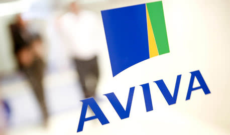 Aviva dividend falls by almost a third