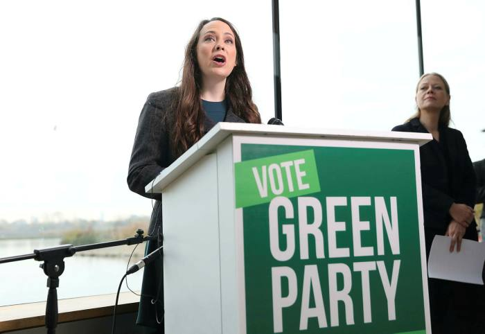 Greens pledge radical tax overhaul