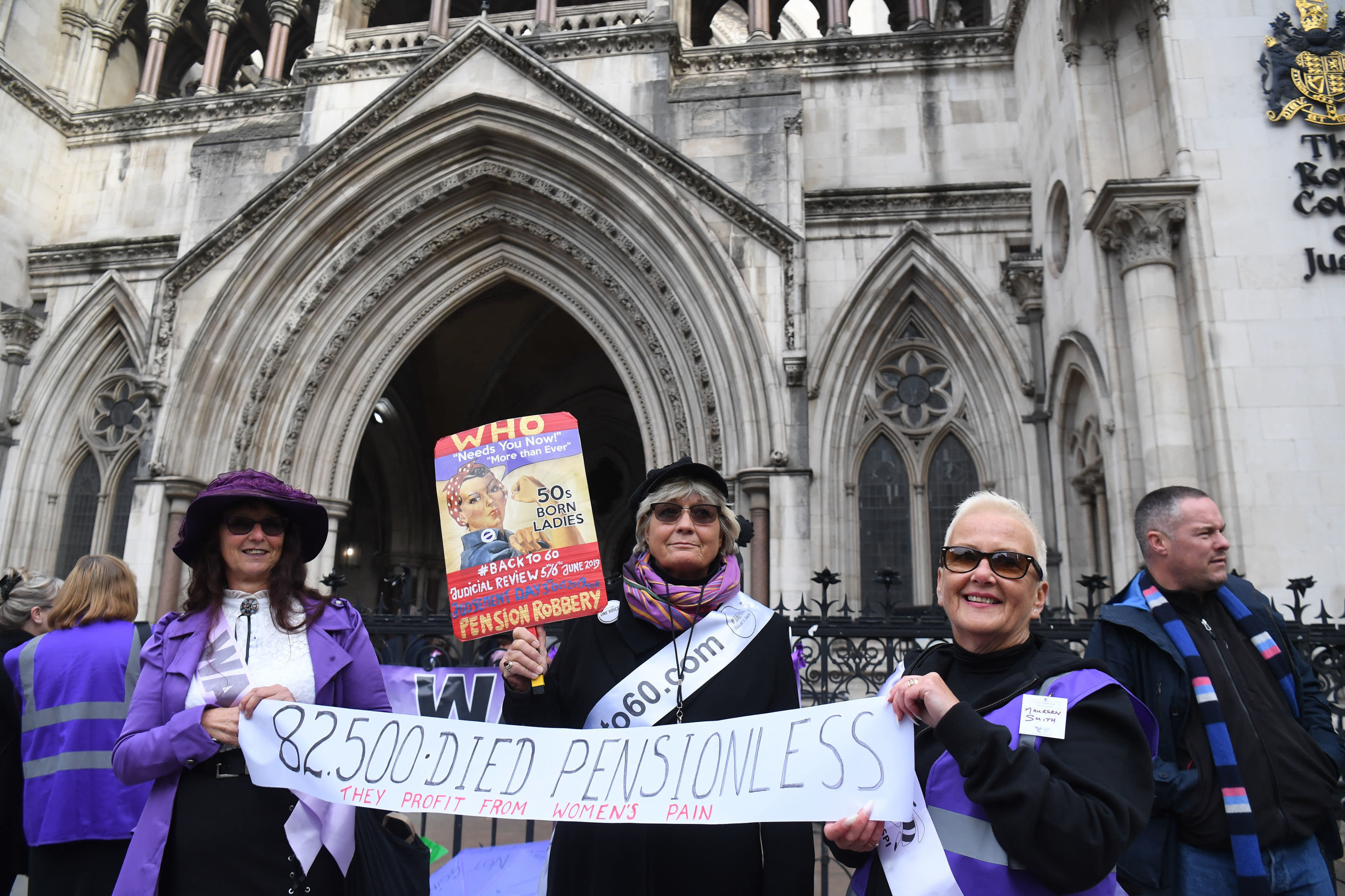Date set for appeal hearing on women's pensions