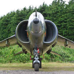 A total of 824 Harriers were built or remanufactured between 1967 and 2003