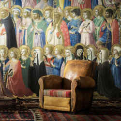 The Forerunners of Christ with Saints and Martyrs by Fra Angelico, £139.90 per sq m
