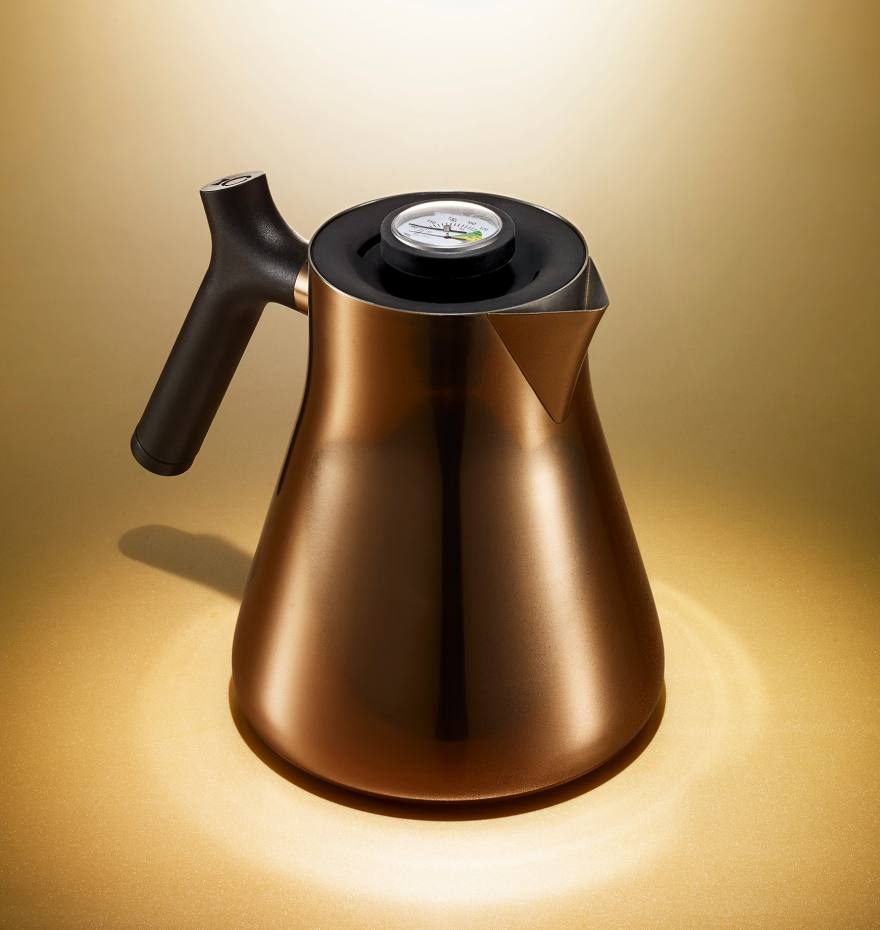 Raven stovetop kettle and tea steeper, $99