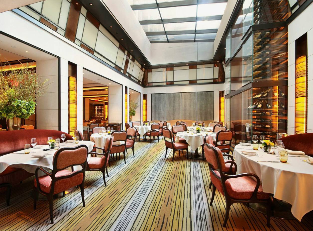 The restaurant at The Mark, New York