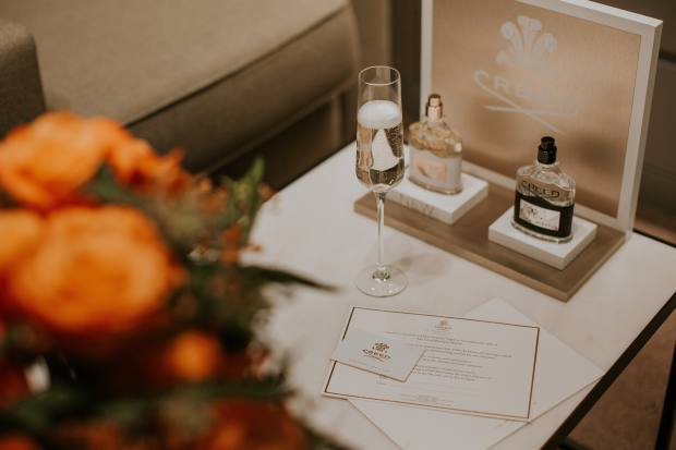 Visit the Creed Boutique for a bespoke fragrance consultation