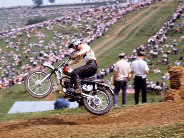 Classic motocross fans are following in the tyre treads of greats like Ake Jonsson