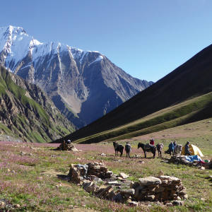 Snowland Journeys' treks include camping in Shey Phoksundo National Park