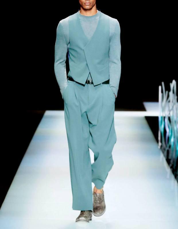Giorgio Armani wool trousers, £820