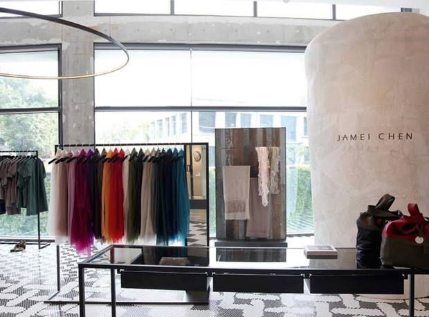 The Jamei Chen boutique at the Eslite Songyan Store