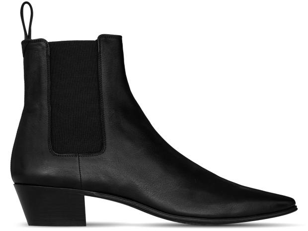 Saint Laurent leather Chelsea boots, £615