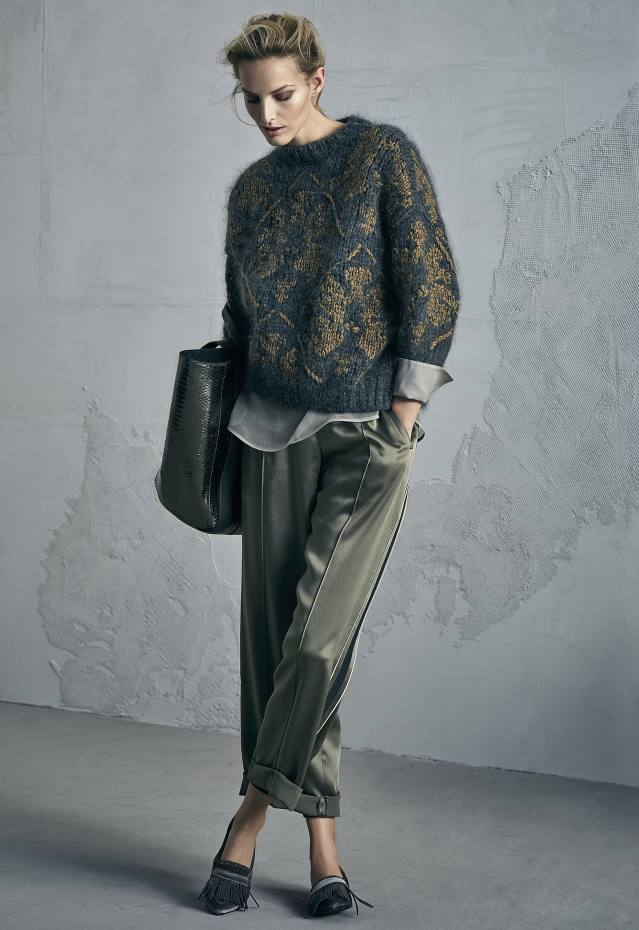 more photos fb0f1 0605e Baroque glamour and winter warmth from Brunello Cucinelli ...