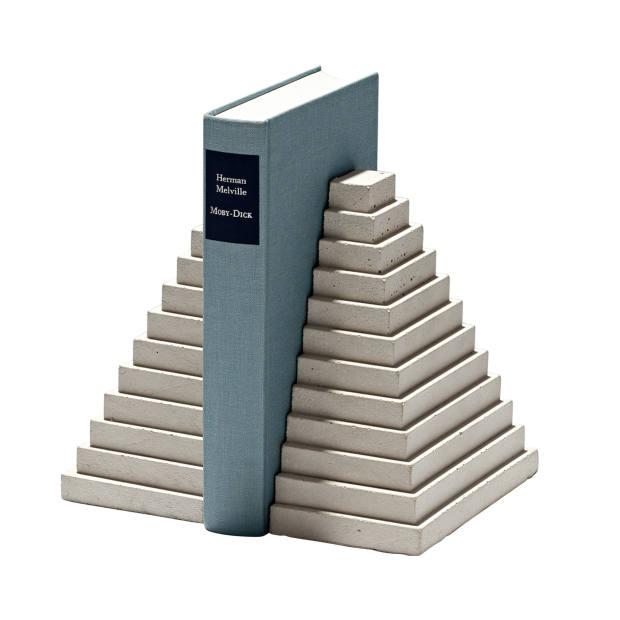Klemens Schillinger concrete Tabletop Landmarks bookends, €69 for a set