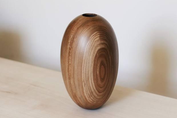Wooden & Woven elm vessel, £450