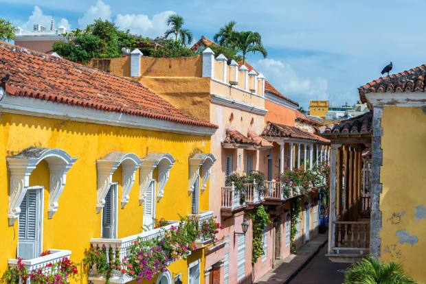 Cartagena's colonial centre offers urban delights