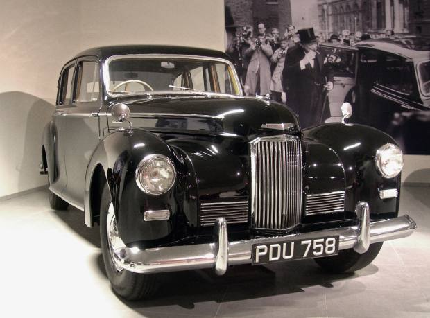 1954 Humber Pullman, formerly owned by Winston Churchill