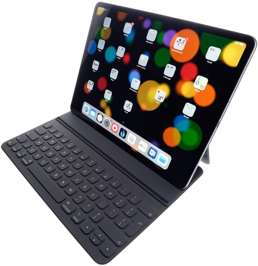 iPad Pro, from £769; Smart Keyboard Folio, from £179