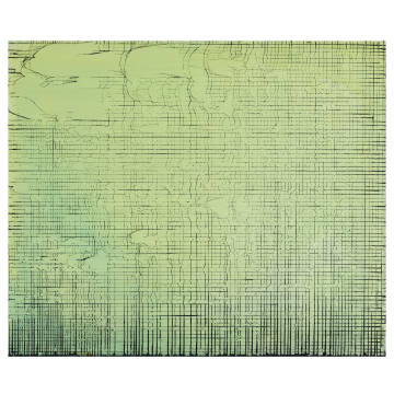 Broken Grid Green by Rachel Howard, estimate £18,000-£25,000