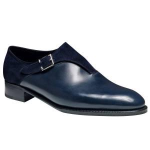John Lobb calfskin and suede Easton shoes,£1,165