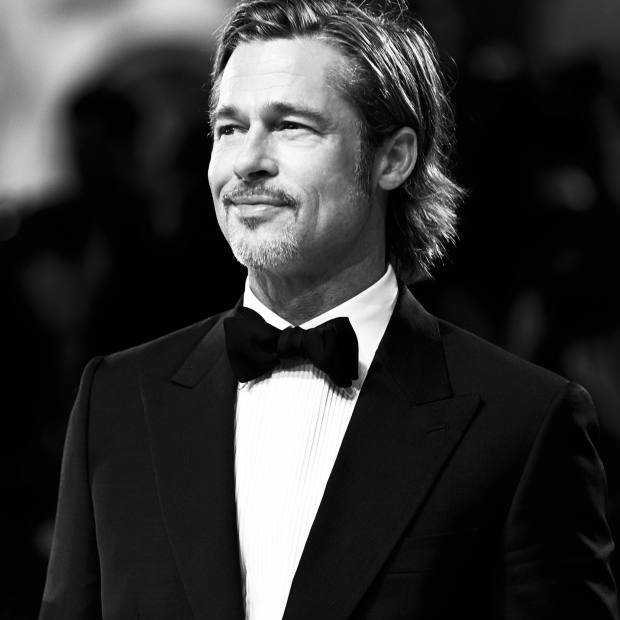 Brad Pitt in Brioni at the premiere of Ad Astra