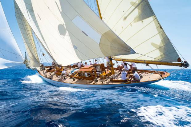 Panerai's 1930s yacht Eilean will be moored at Homo Faber